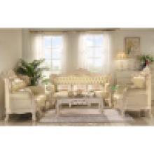 Sofá de couro para móveis de sala de estar (512A)
