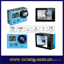 WiFi 4k Action Camera 1080P 60fps Dual Screens Sport Camera H3