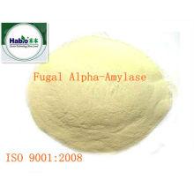 Alfa-amilasa fúngica, forma de polvo, 100000 SKB U / g, aplicación para hornear y lácteos