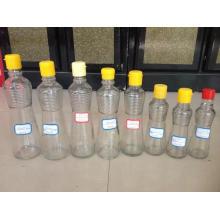 Bouteilles de verre de qualité alimentaire pour huile de sésame, condiment, vinaigre