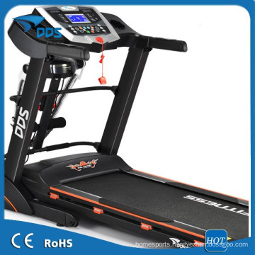 High speed Motorized treadmill 3.0HP with service centres for fitness equipment
