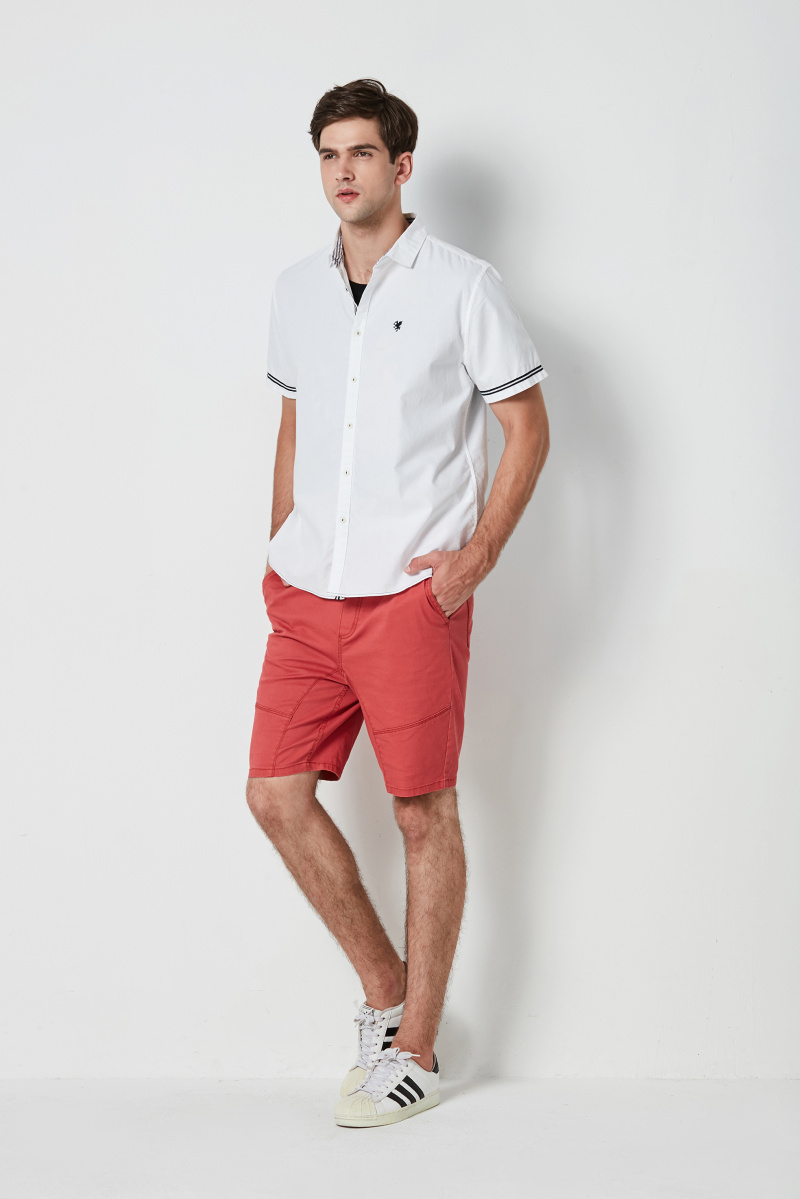 cotton poplin mens shirt
