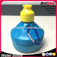 Китай бутылки воды спорта bpa бесплатные бутылки воды с карабином и крышкой