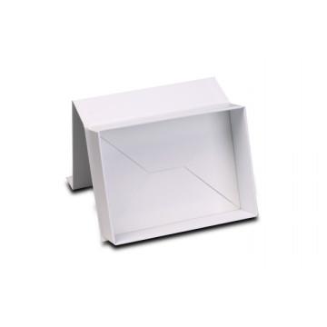 Coffret cadeau magnétique pliant promotionnel blanc de Nice Look