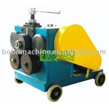 Máquina de dobramento de seção para conexão de flange de duto de ar
