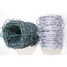 PVC Coated/Electric Galvanized Barbed Wire