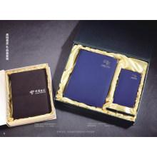Neue Hardcover Leder Notebook Geschenkbox