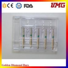 2016 Novo Dental Diamond Bur Set para Handpiece de alta velocidade