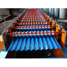 PLC Control Corrugated Steel Forming Machine