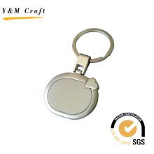 Spezieller ovaler Metallschlüsselring mit hoher Qualität (Y02321)
