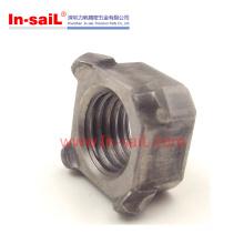 DIN928 DIN929 Edelstahl / Kohlenstoffstahl Vier / Hex Schweißmuttern