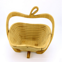Античная бутик подарок деревянные корзина с фруктами
