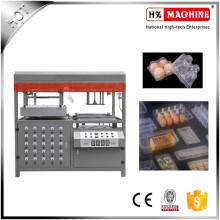 Vácuo semiautomático que forma a bandeja do alimento da bandeja do bolo da máquina que faz a máquina