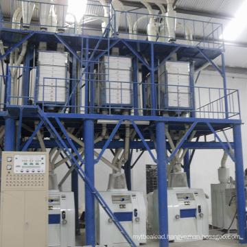 Small scale wheat flour mill machine