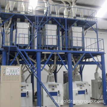 Corn flour making machine