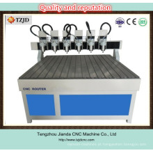 Roteador CNC multi-cabeçalho para anúncio