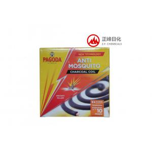 Black anti-mosquito incense coil