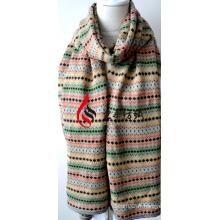 Châle en acrylique tricoté (12-BR201812-20)