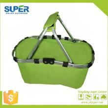 Panier à provisions de stockage portable double poignée (SP-305)