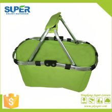 Double Handle Portable Storage Shopping Basket (SP-305)