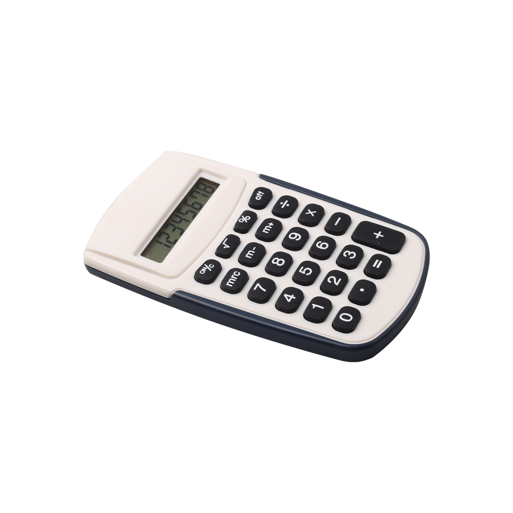 8 Digits Handheld Electronics Calculator with Battery Power
