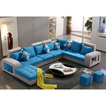 Colorful U Shape Fabric Sofa, Modern Sofa (S888)