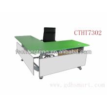 Tirana & Durres & Vlore L mesa de escritório ajustável em altura regulável manual