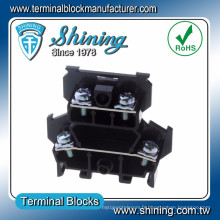 TD-025 AWG 10 Double Deck 600V 25 Amp PCB Screw Terminal Strip