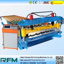 FX 840 Machine de formage de rouleau en acier, Machine de formage de rouleaux de panneau de toit, machine de formage de métal