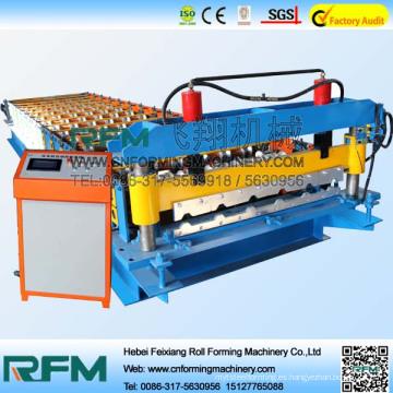 Máquina formadora de rollo de acero FX 840, Máquina formadora de rollo de panel de techo, máquina formadora de metal