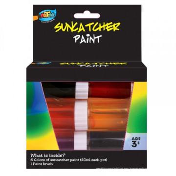 Factory supplying Non-toxic 6*20ml Suncatcher Paint