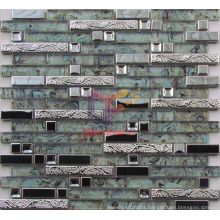 Mixed Size Stainless Steel Mosaic (CFM879)