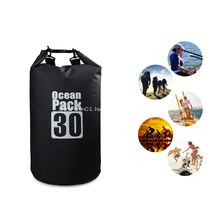 Wholesale Customized Durable Waterproof PVC 30L Dry Beach Bag