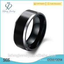 Großhandelspreis 8mm Wolfram Ring Mens Wolfram Hartmetall Ring