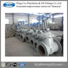 Russia standard cast steel flange gate valve