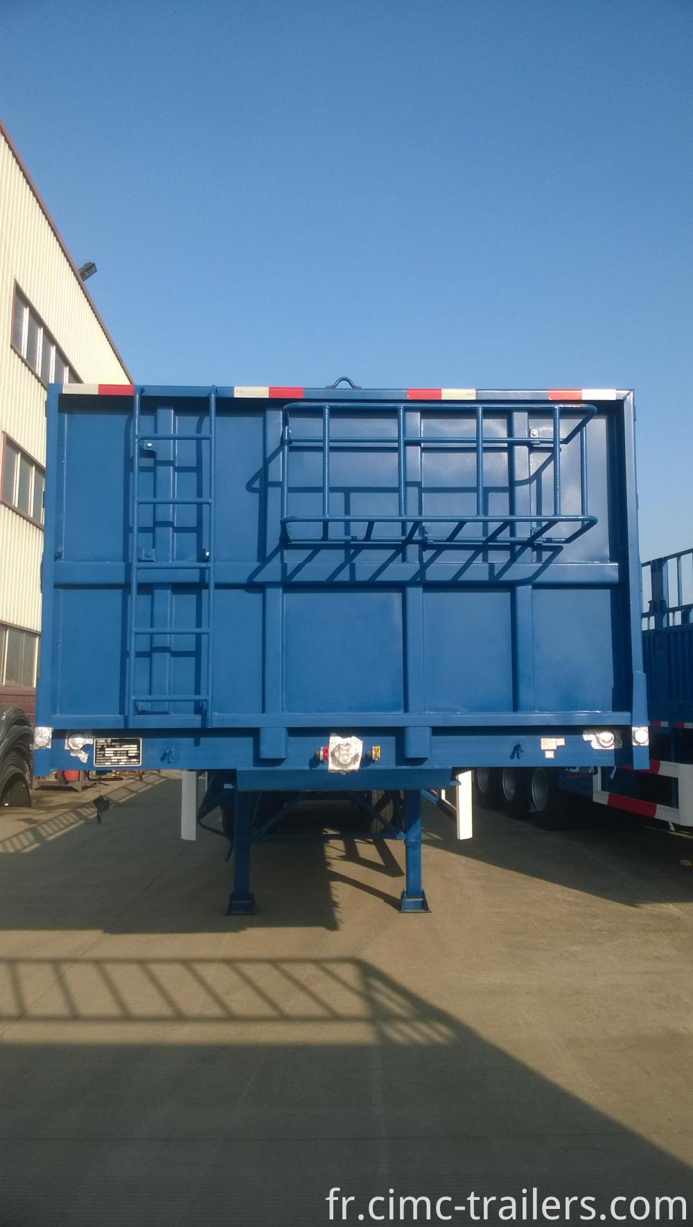 F Dangote Tri Axle Fence Semi Trailer
