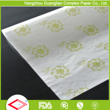 Papel impresso seguro do sanduíche do Hamburger do papel da prova da graxa do alimento
