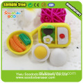 Grupo de alimentos Shaped Eraser Toy, Cute eraser Stationery Gift