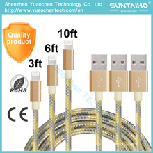 High Quality Fast Charging Data Charging USB Cable for iPhone
