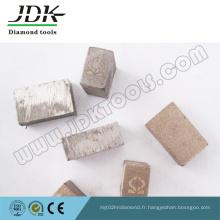 Segment de diamant Ms-6 pour la pierre du Mexique