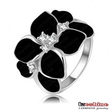 Popular Girl Rose Flower Costume Jewelry Ring (Ri-HQ1006-B)