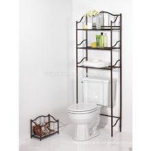Sobre o armazenamento da prateleira do toalete \ Elegance Cromo Material Bath Self \ Space Auto poupança para a sala de banho