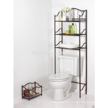 Над унитазом полки для хранения\Элеганс хром Материал ванны самостоятельно\экономия пространства для ванной
