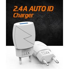 Chargeur mural USB 12W pour téléphone portable