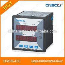 DM96-ET Medidores multifunción digitales monofásicos programables