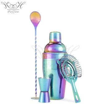 4pcs cocktail kit faisant barware cadeau