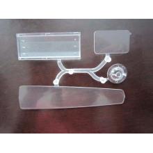 Feuilles en plastique transparentes, pièces en plastique Fournisseur