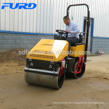 South Africa Hot Sell Small Tandem Vibro Roller Compactor (FYL-890)