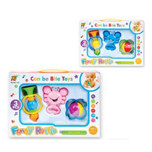 Hot Sale Baby Plastic Ring Toys Funny Baby Rattle (10214070)
