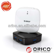 ORICO 4 port USB3.0 Super Speed mirror HUB,4-port hub, USB3.0 hub